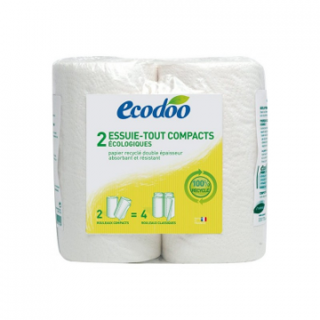 2 ESSUIE-TOUT COMPACTS ECODOO
