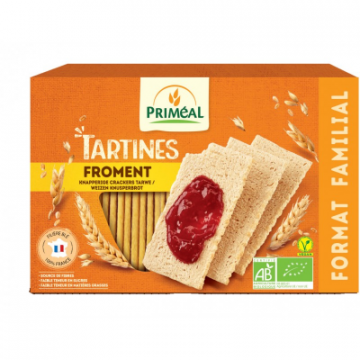 TARTINES CRAQUANTES FROMENT...