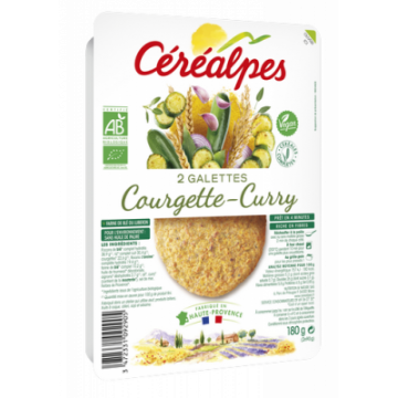 GALETTE COURGETTES CURRY...
