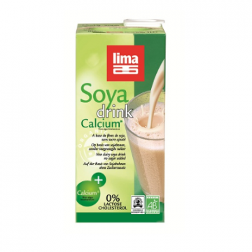 SOYA DRINK CALCIUM 1L LIMA