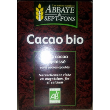 CACAO PUR 200 GR