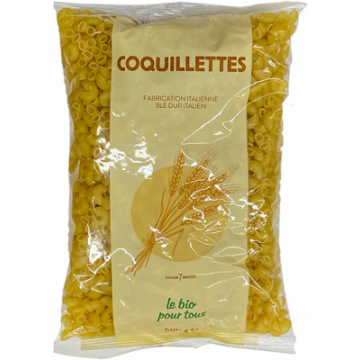 COQUILLETTES BLANCHES 500G...