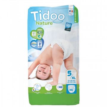 COUCHES X46 TIDOO 12-25KG