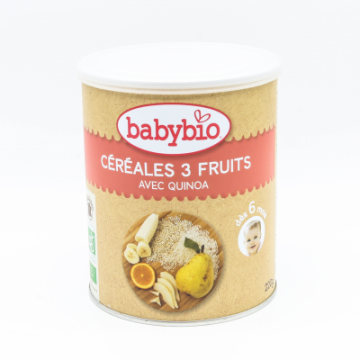 CEREALES 3 FRUITS BABYBIO