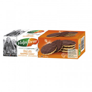 BISCUITS NAPPES CHOC...