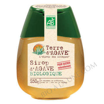 SIROP D'AGAVE 500G TERRE...